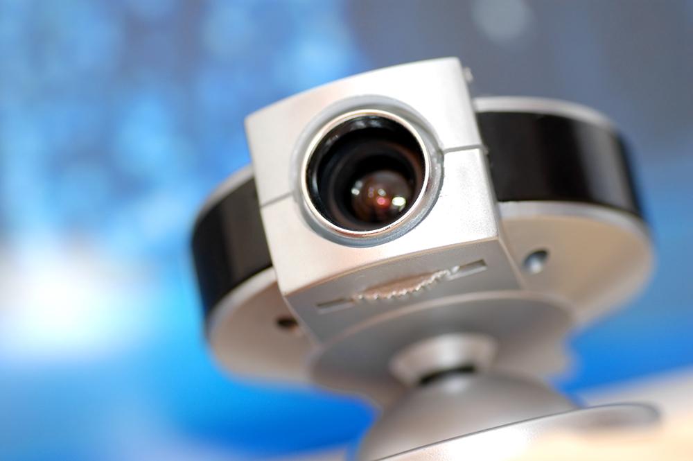 מצלמת אבטחה בשידור חי