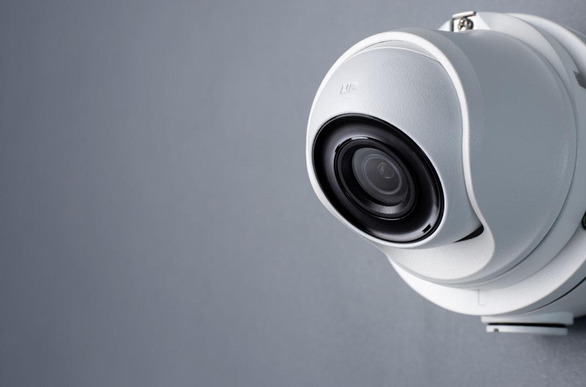 מצלמת אבטחה כיפה