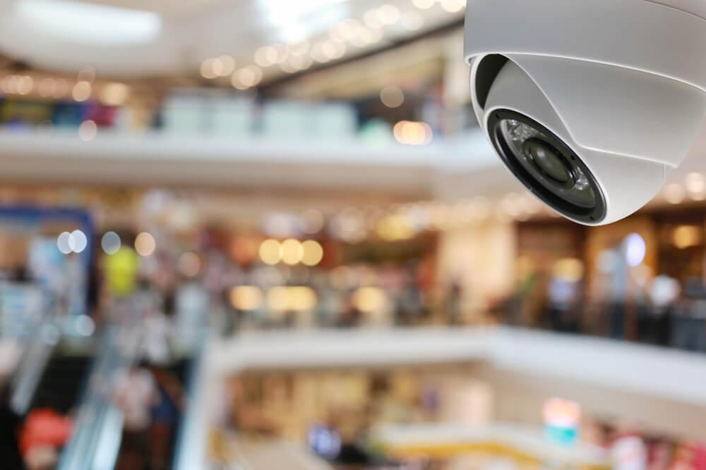 התקנת מצלמת אבטחה בקניונים