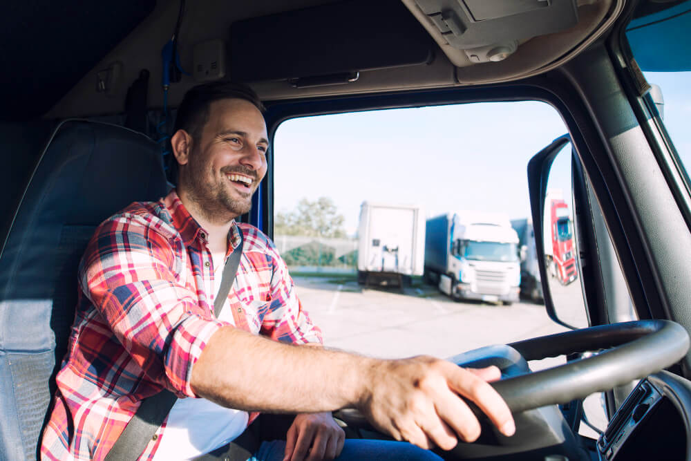 נהג משאית